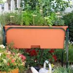 Planting Herb Garden Raised Beds