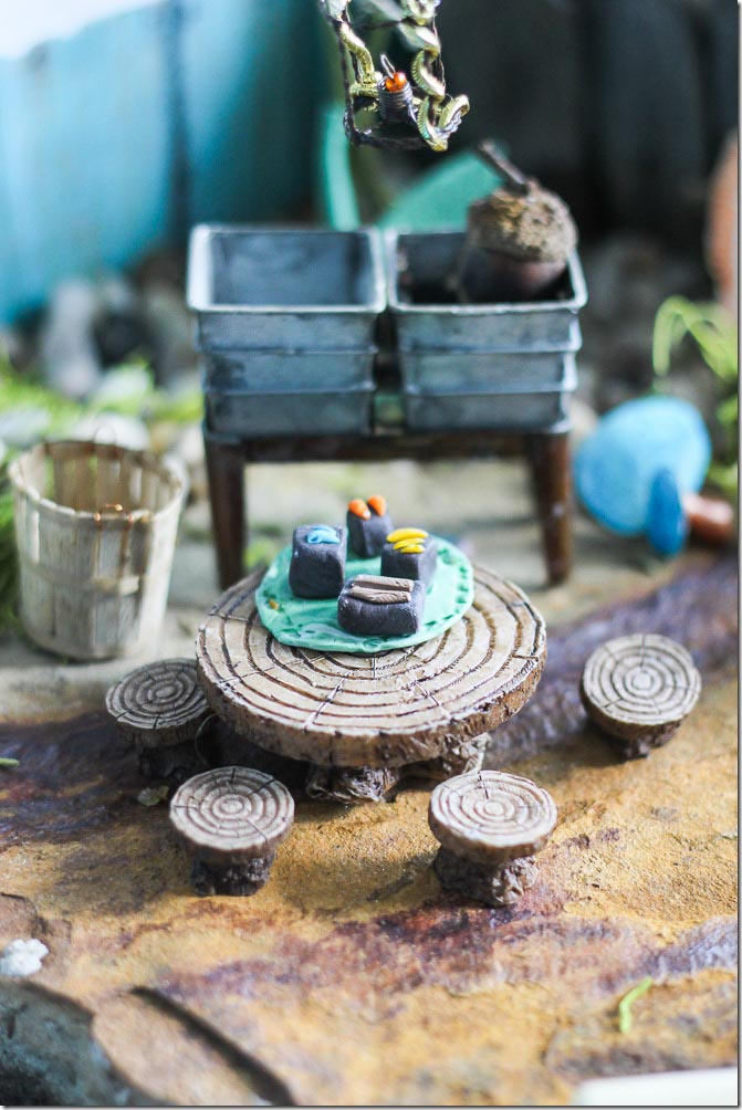 Polymer Clay Fairy Garden Accessories