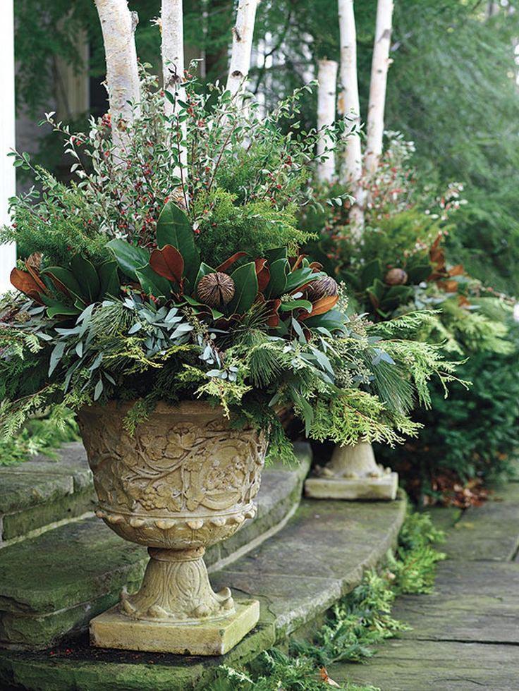 potted herb garden design ideas