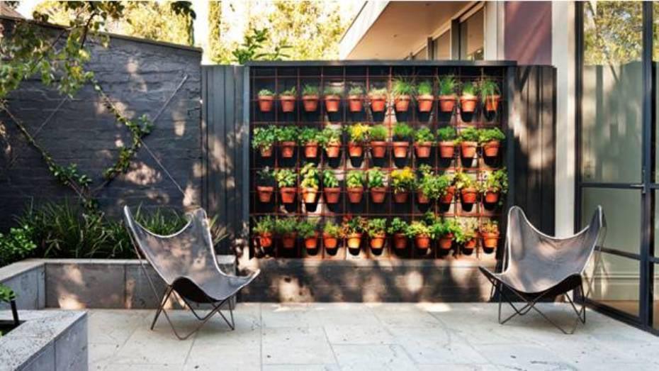 Potted Herb Garden Ideas