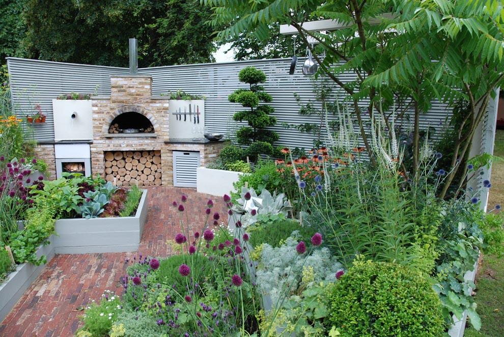Raised Bed Herb Garden Design