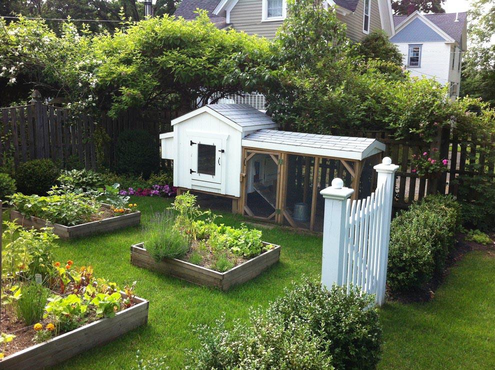 Raised Bed Herb Garden Ideas