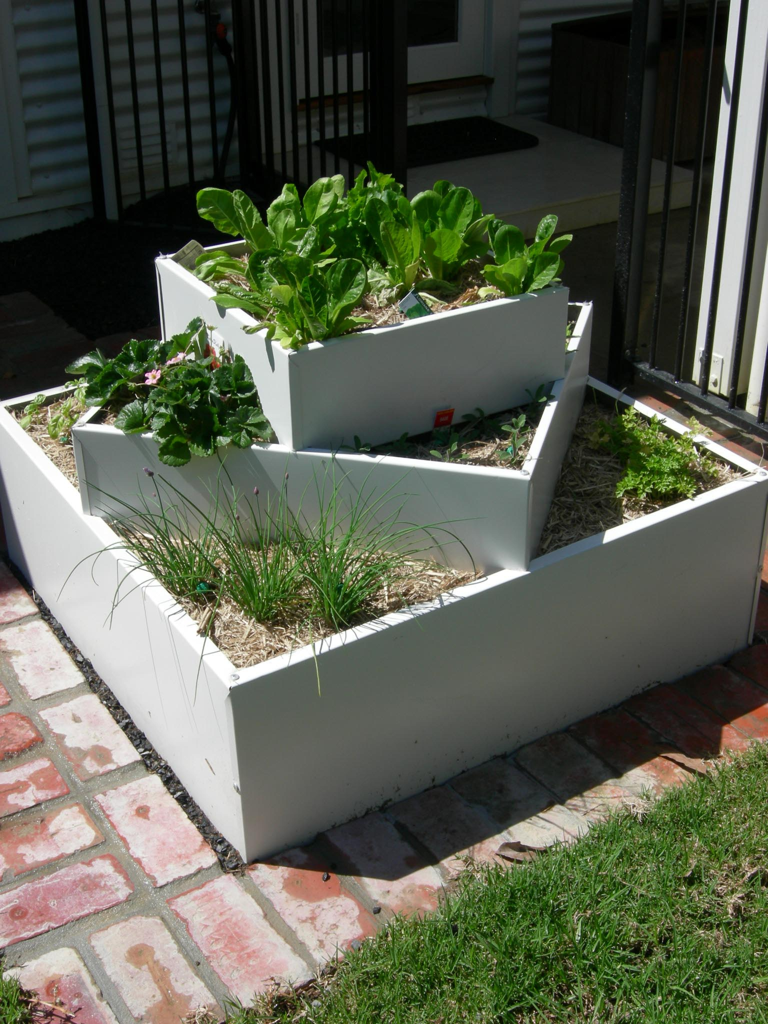 Raised Herb Garden Beds