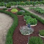 Raised Herb Garden Design