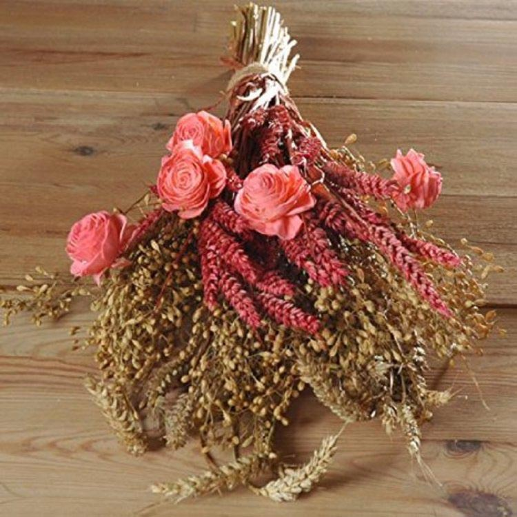 Rustic Dried Flower Arrangements