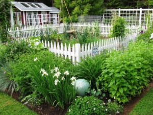 Small Decorative Garden Fencing