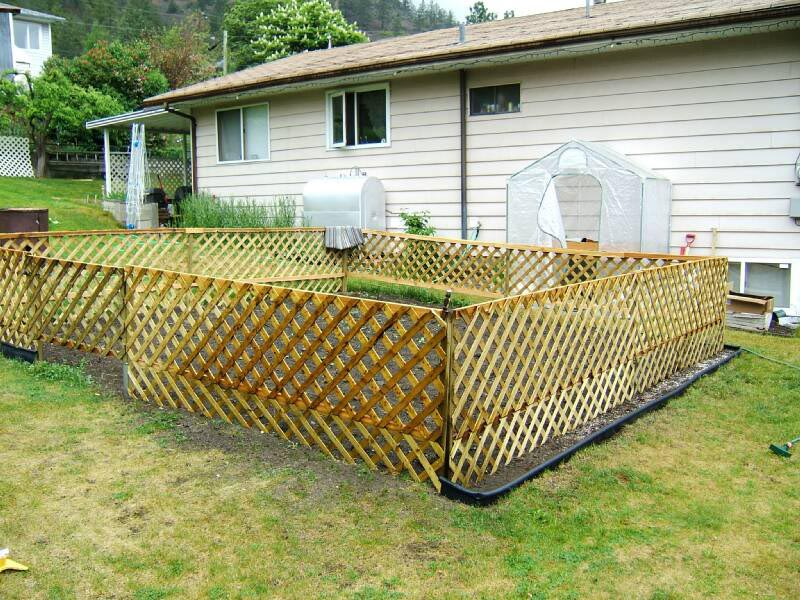 Small Fence Around Garden Garden Design Ideas