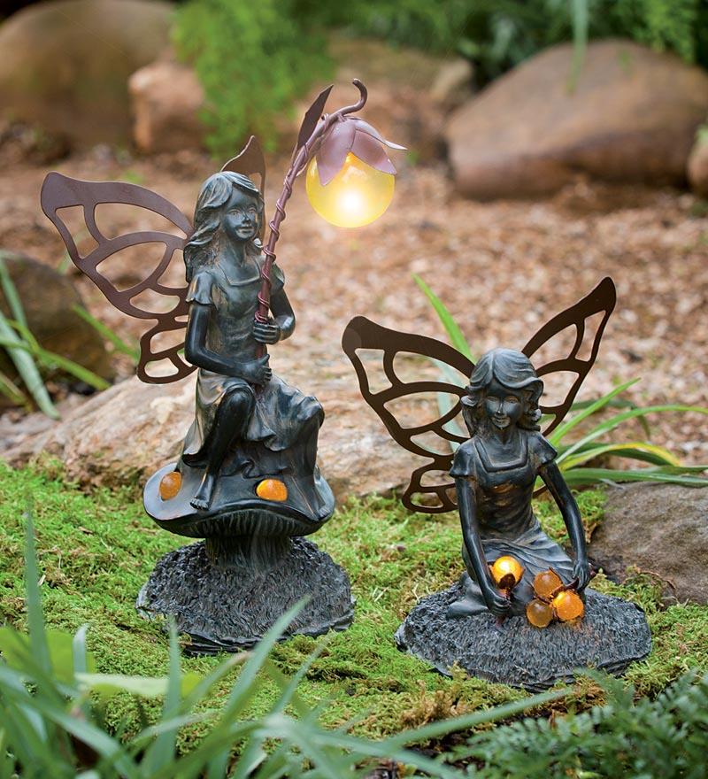 Small Garden Fairy Statues