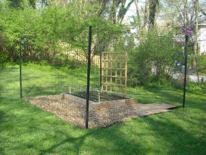 Small Garden Fence Kit