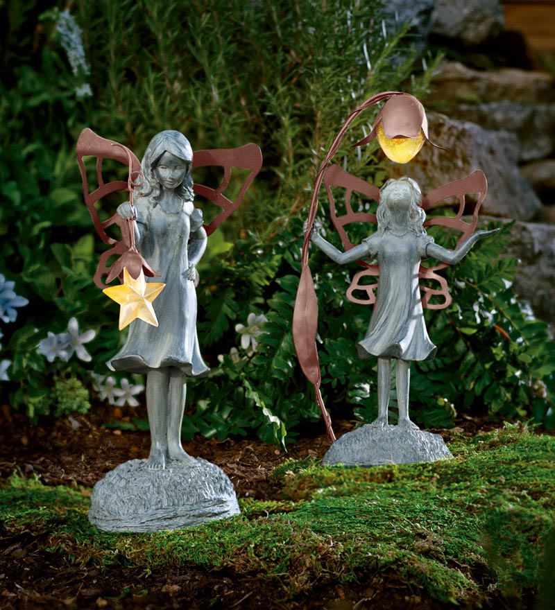 Small garden ornaments fairies garden design ideas Small garden fairies