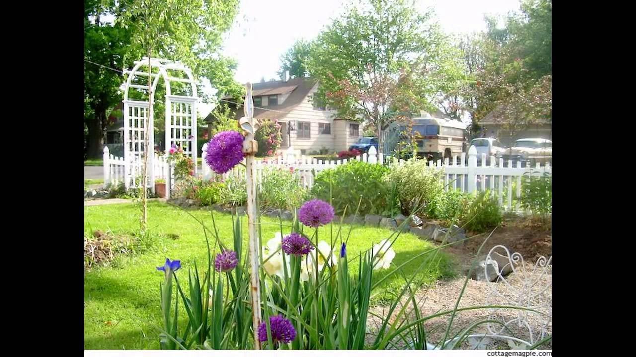 Small garden picket fence ideas garden design ideas for Garden design ideas 2016