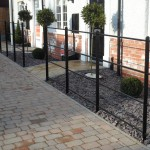Small Metal Garden Fence