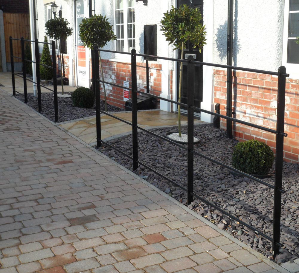 Awesome Small Metal Garden Fence