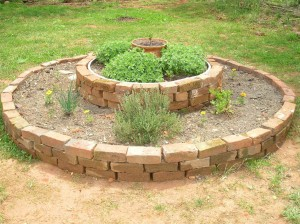 Small Raised Herb Garden