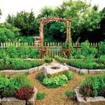 Small Vegetable Herb Garden Design