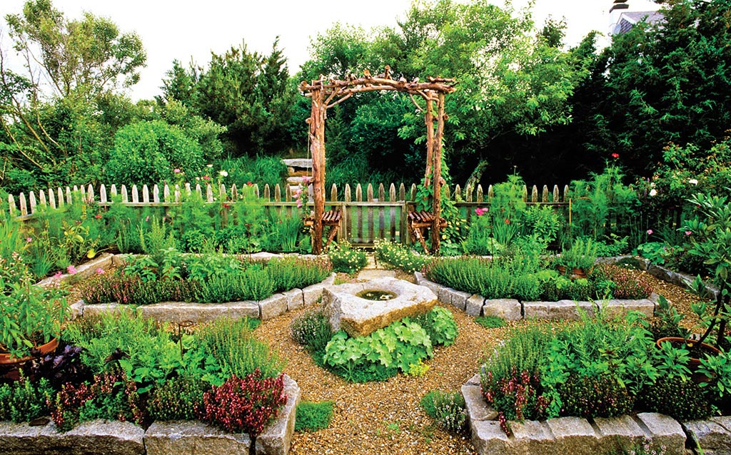 Small Vegetable Herb Garden Design