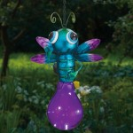Solar Flying Fairies Outdoor Garden Stake