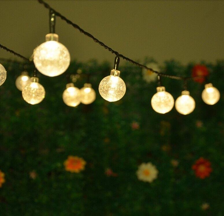 Solar Garden Fairy Lights Outdoor