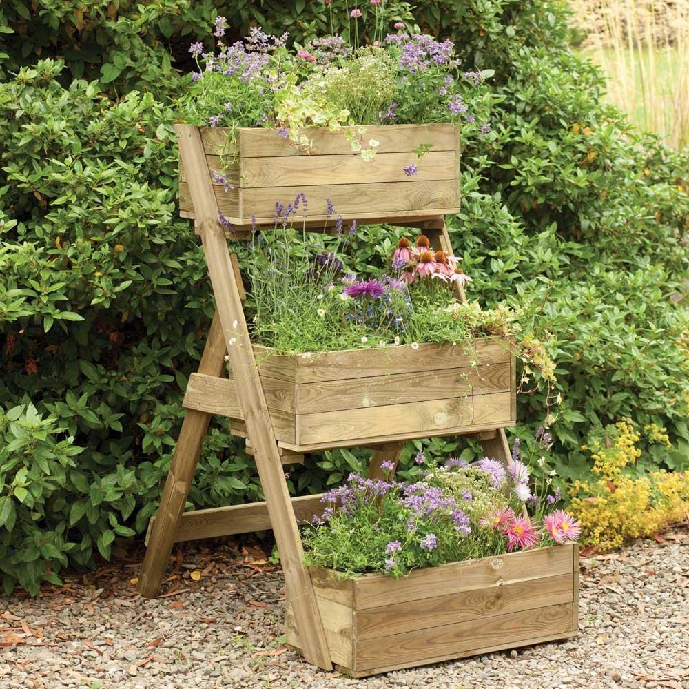 Tiered Herb Garden Planter
