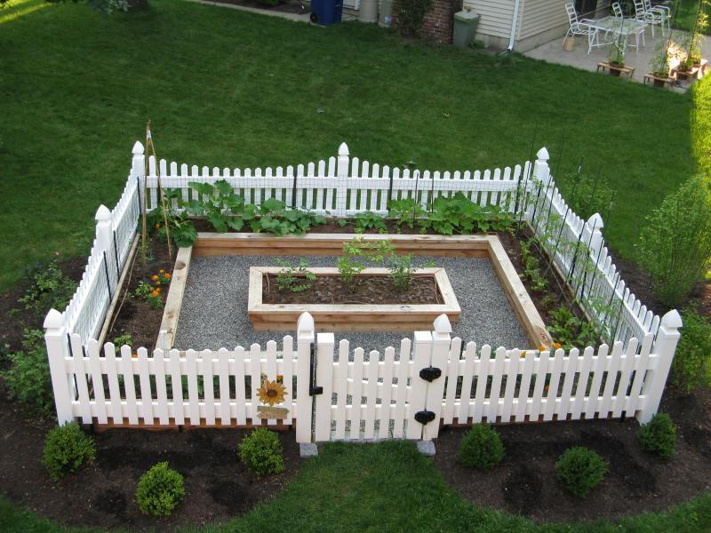 Vegetable Garden Fences and Gates