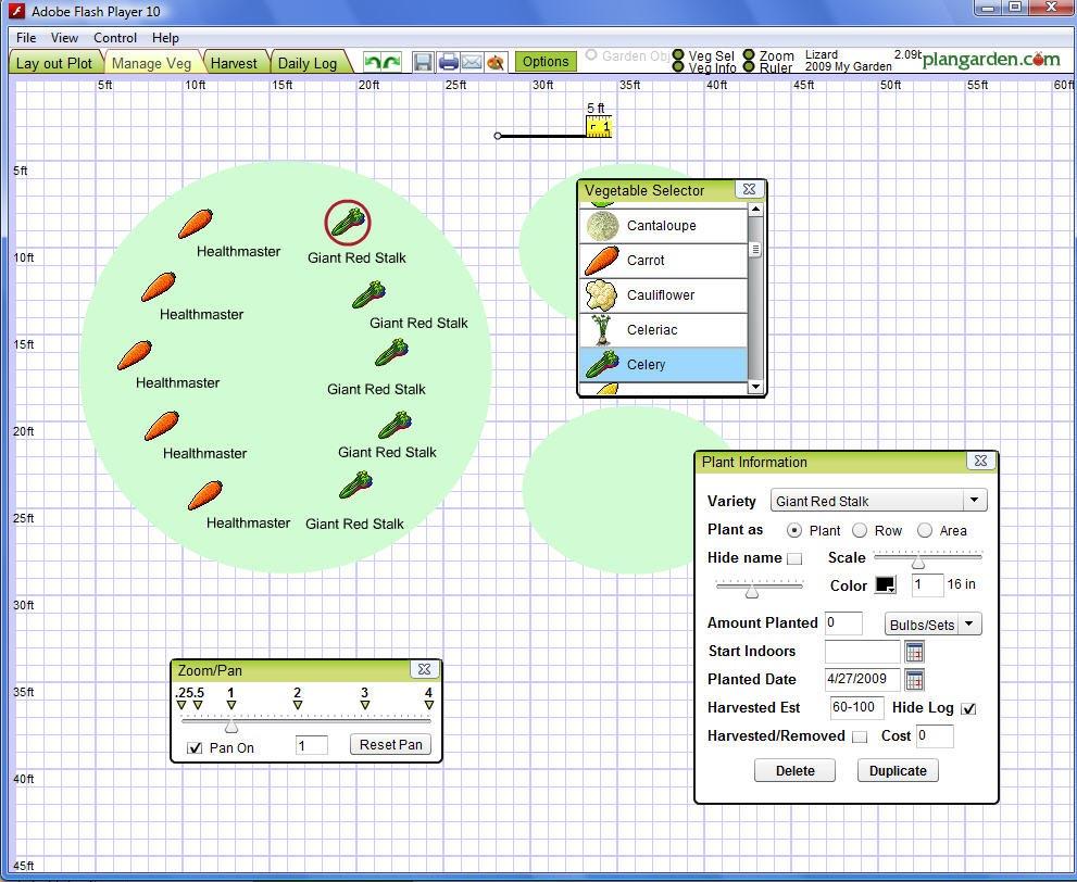 Vegetable Garden Planning Software