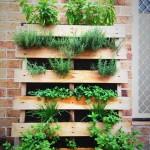 Vertical Herb Garden Pallet