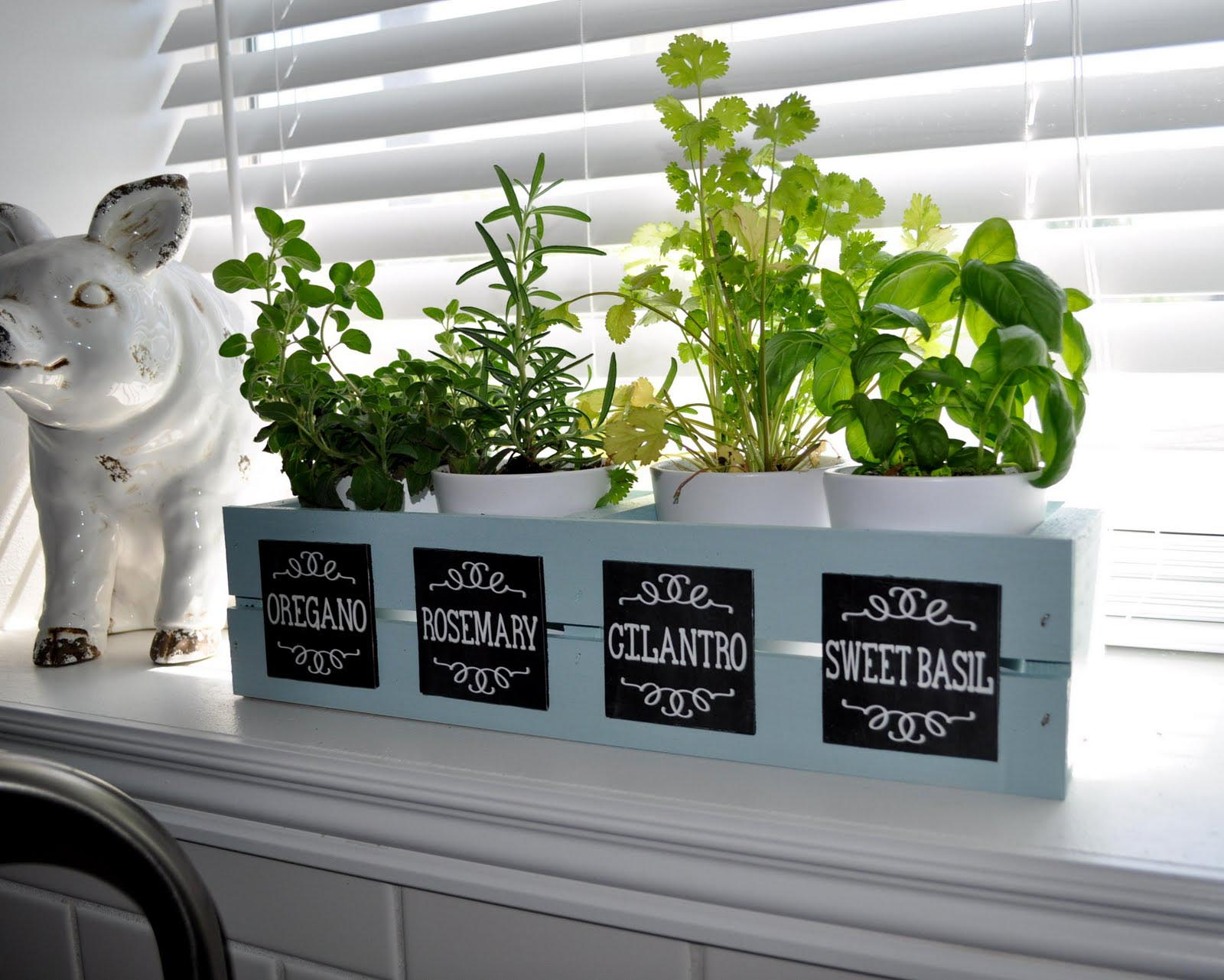Window Herb Garden Ideas