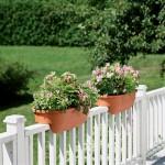 Wooden Deck Rail Planter Boxes