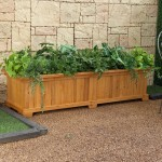 Wooden Garden Planter Boxes