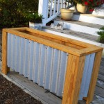Wooden Planter Box Instructions