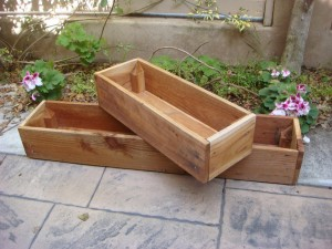 Wooden Planter Boxes Plans