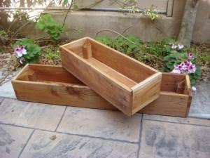 Wooden Planter Boxes Plans