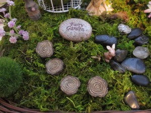 Woodland Fairy Garden Furniture