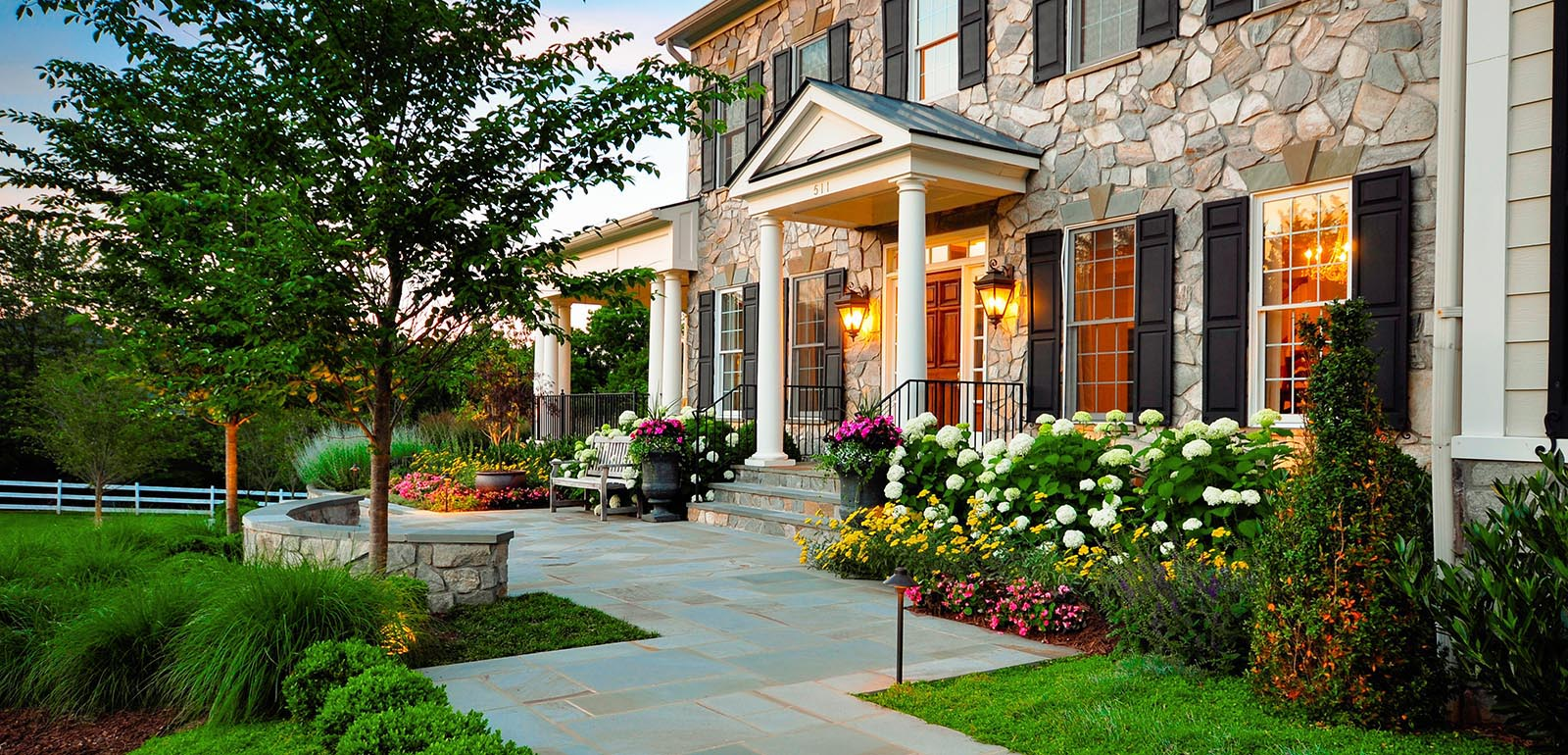 Beautiful Front Yard Flower Gardens