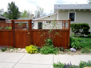 Black Metal Fencing for Gardens