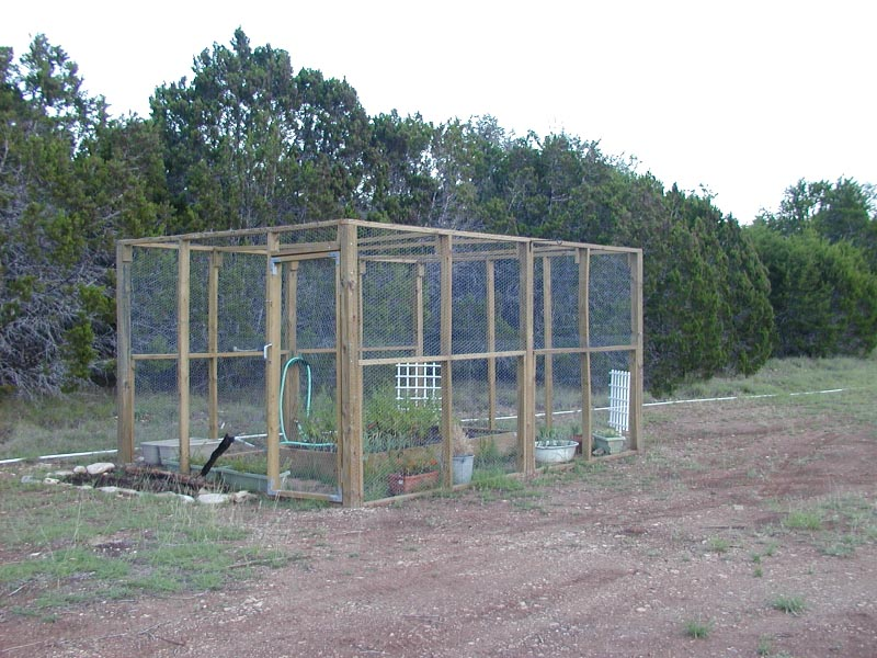 Chicken Wire Fence for Garden