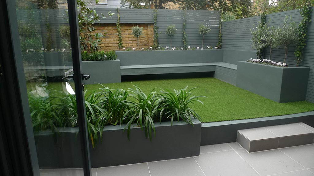 Contemporary Low Maintenance Garden Design