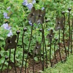 Decorative Garden Fence Border