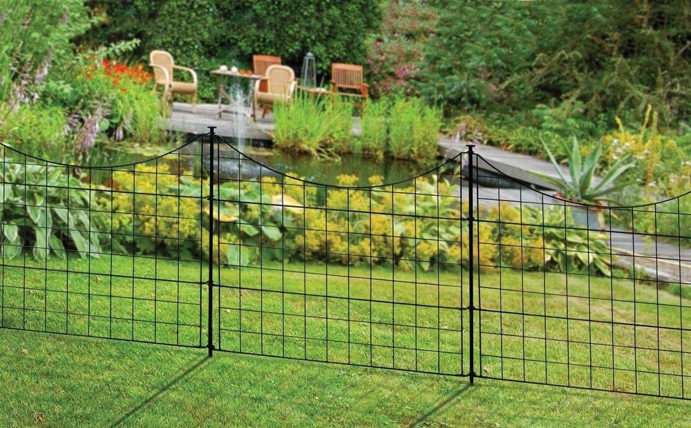 Decorative Metal Garden Fence