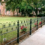 Decorative Metal Garden Fencing Panels