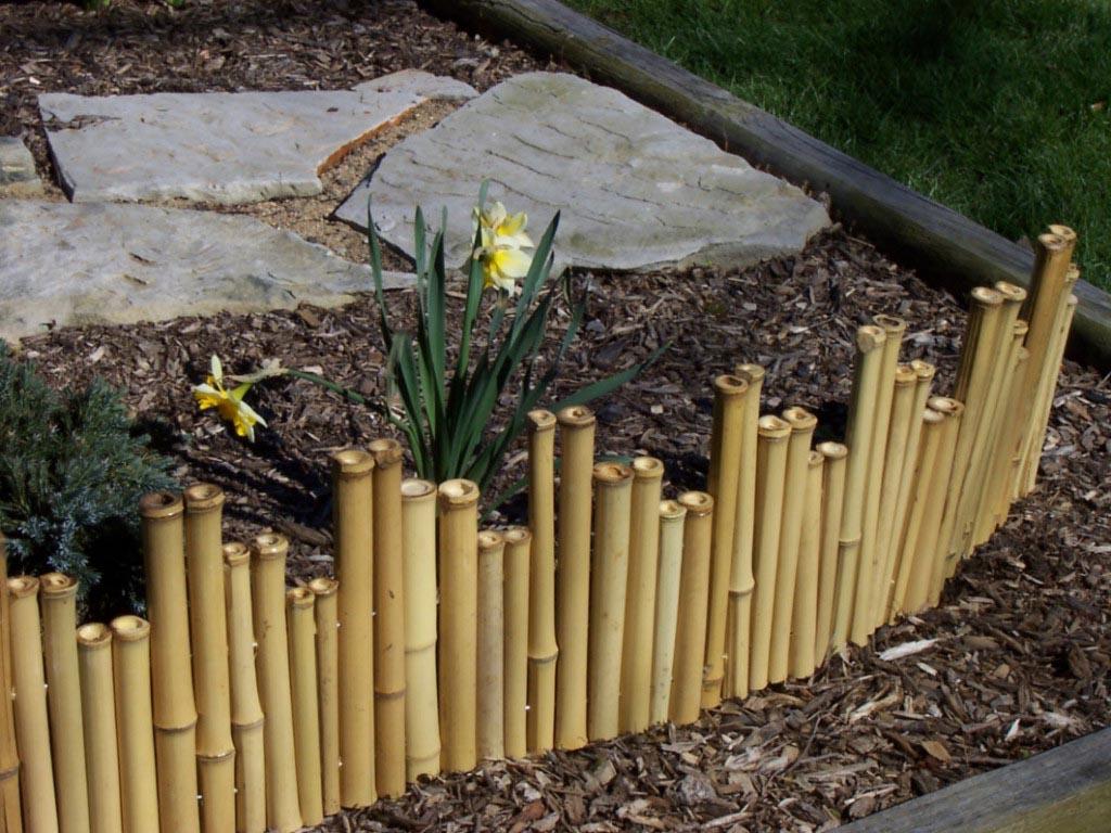 DIY Garden Border Fence