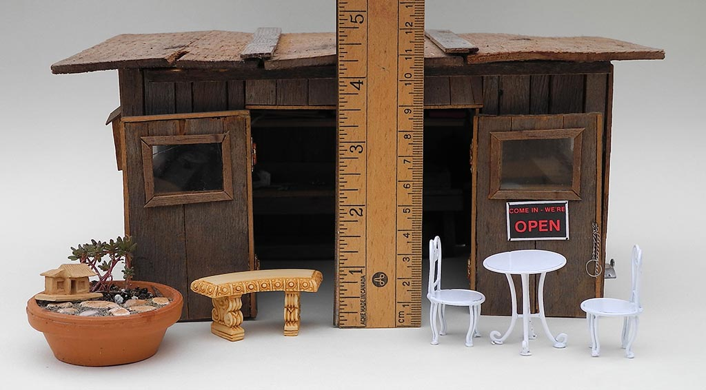 Dollhouse Miniature Garden Accessories