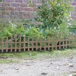 Flower Garden Border Fence
