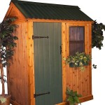 Free Small Garden Shed Plans