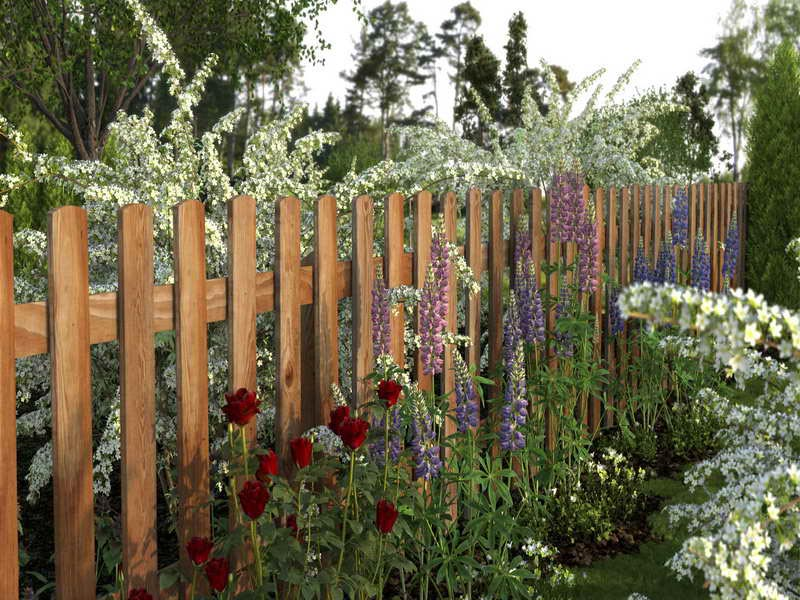 Garden Fence Designs Wood