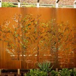 Garden Gate Privacy Screen