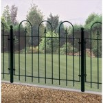 Garden Metal Fencing Panels