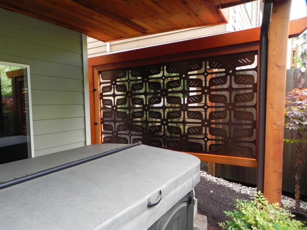 Garden Privacy Screen Designs