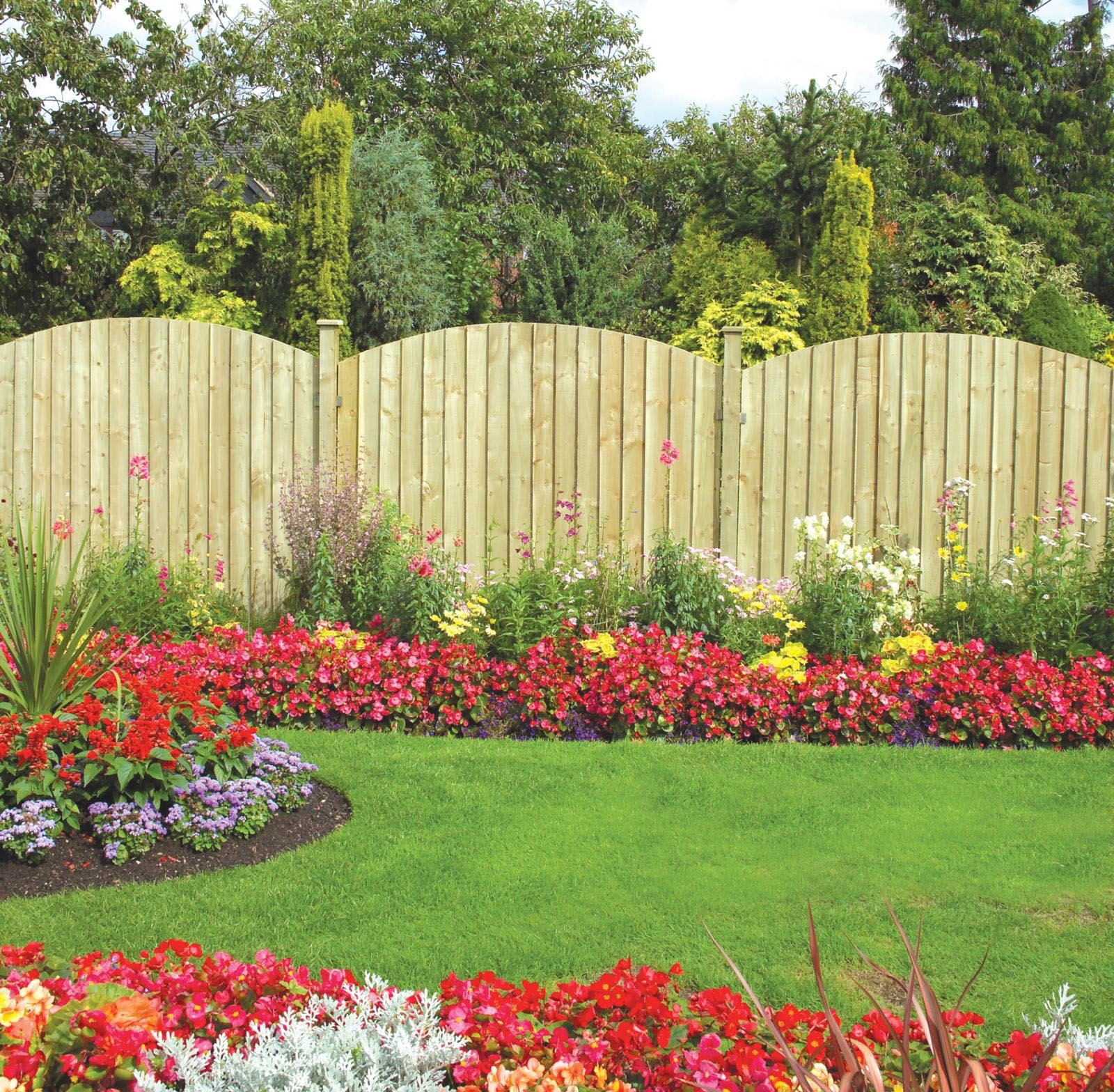 Garden Treasures Border Fence