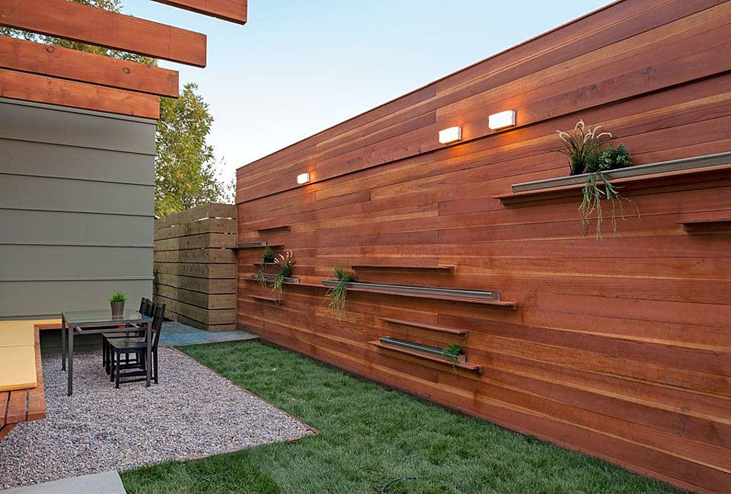 Garden Wooden Fence Panels